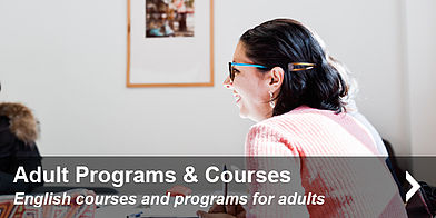 English courses and programs for adults