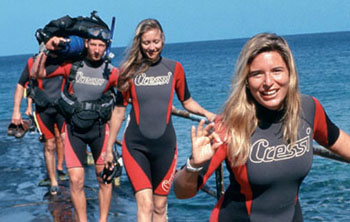 Open water diving course for beginners & up